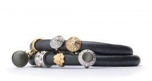 Creme Metallic Bracelet