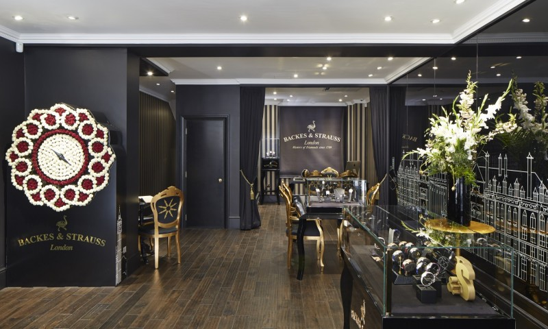 backes strauss opens mayfair boutique jewellery focus. Black Bedroom Furniture Sets. Home Design Ideas